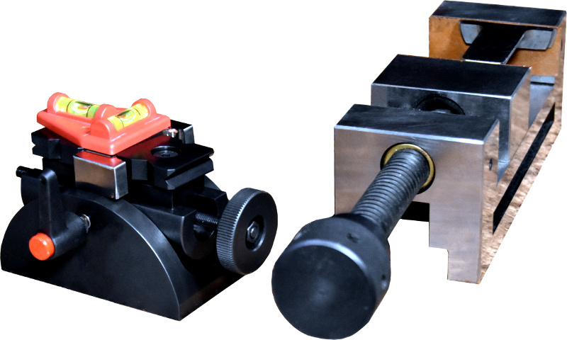 Adjustable sample holders to support crank shafts, constant velocity joints, encapsulated or bare samples, etc...