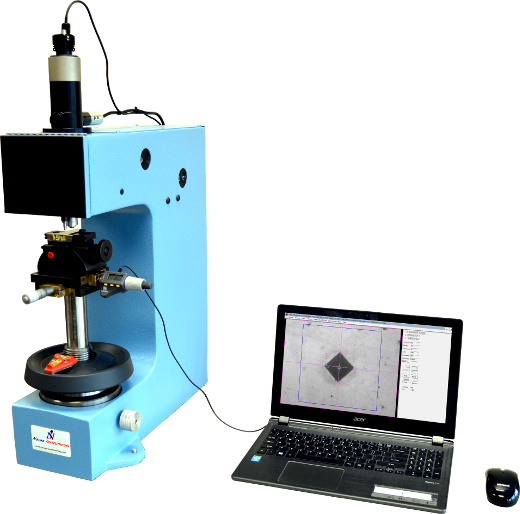 Fully-automatic vickers hardness tester with image analysis