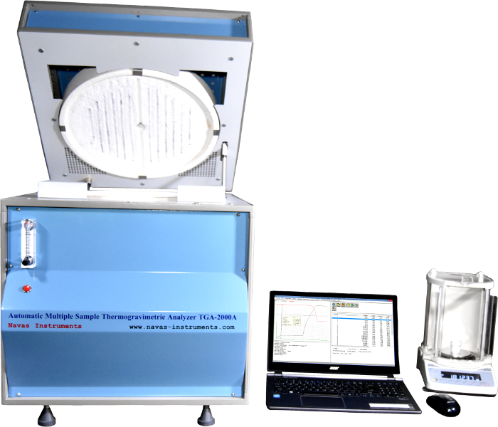 Navas Instruments Thermogravimetric Analyzers